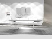 Virtuvės baldai ir valgomojo ištraukiamas stalas